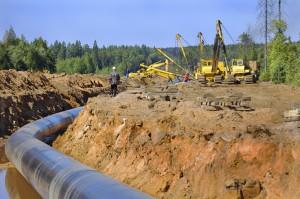 DOT Pipeline Construction Photo